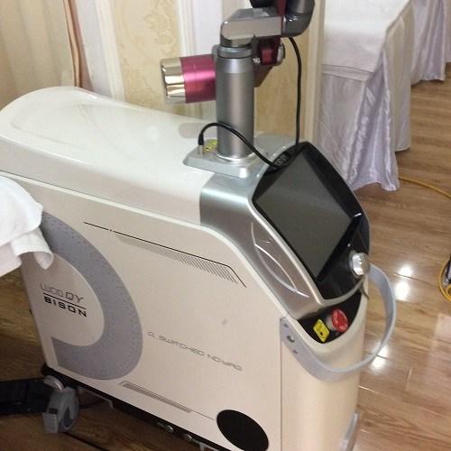 Máy Lucio Qy tại Viện điều trị nám