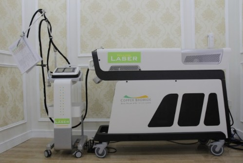 Máy Yellow Laser tại Viện điều trị nám