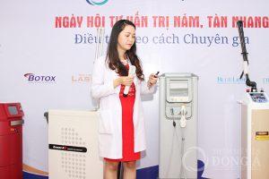Hội thảo về nám da thường xuyên được tổ chức bởi viện Điều trị nám