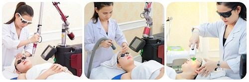 Các giai đoạn phục hồi - điều trị - duy trì bằng công nghệ trị nám Hoa Kỳ