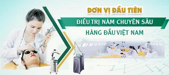 Viện điều trị nám công nghệ cao – đơn vị đầu tiên điều trị nám theo cấp độ tại Việt Nam
