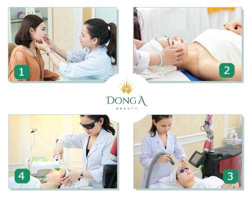 Thạc sĩ - Bác sĩ Thi Ra điều trị nám da cho khách hàng
