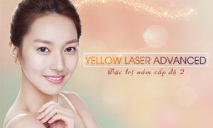 Trị nám cấp độ 2: Yellow Laser Advanced