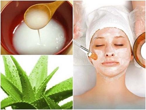 Trị nám da mặt bằng phương pháp dân gian từ nha đam và nước vo gạo