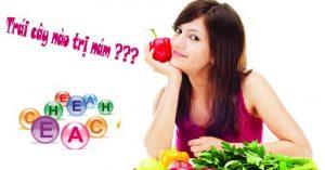 Tại sao cách trị nám da mặt bằng trái cây không hiệu quả?