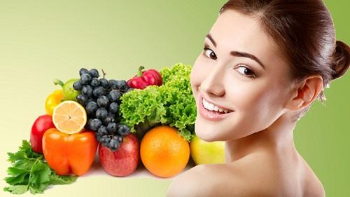 Ăn nhiều rau, củ , quả hằng ngày